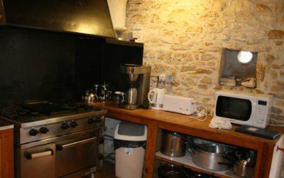 La cuisine du Hameau du Manoir de La Gabertie