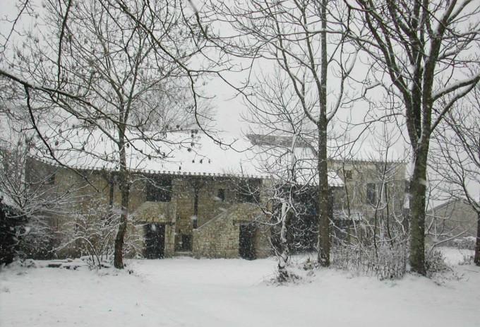 La Gabertie sous la neige