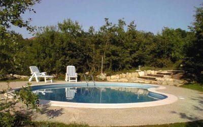 La piscine de Coustals de La Gabertie